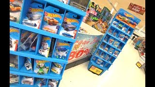 Hot Wheels Hunting At Walmart. Ready For Christmas!