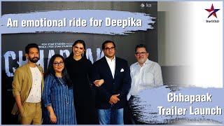 Chhapaak's exclusive trailer launch | Deepika Padukone, Vikrant Massey