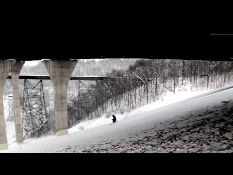 Pittsburgh 2010 Snowstorm Edit - Skiing Mt. Washington