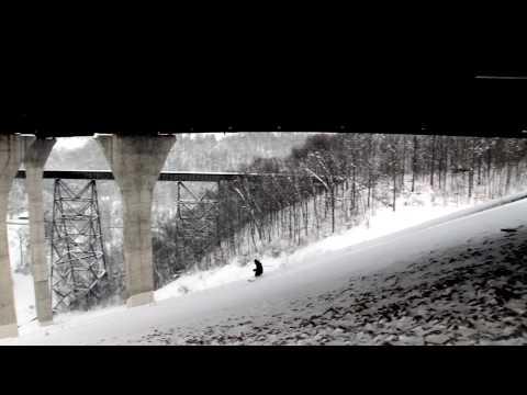 Pittsburgh 2010 Snowstorm Edit - Skiing Mt. Washington