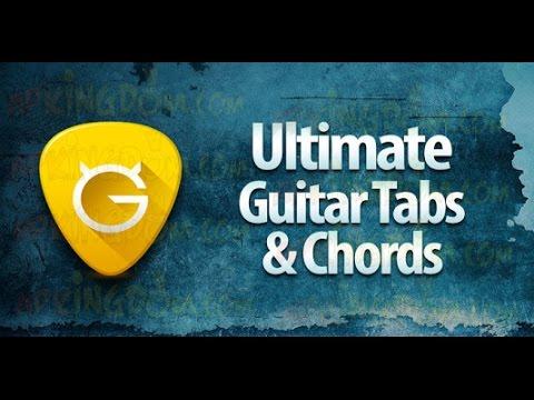 ULTIMATE GUITAR TAB PREMIUM GRATIS - YouTube