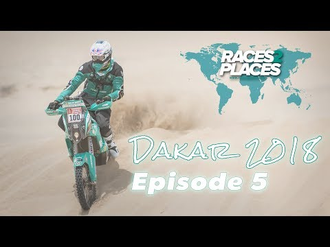 Lyndon Poskitt Racing: Races to Places - Dakar Rally 2018 - Episode 5 - ft. Lyndon Poskitt