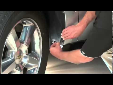 WeatherTech No-Drill Mud Flap for Select Chevrolet Tahoe//GMC Yukon Models