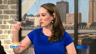 Hand Analysis Interview-Linda Dietz  KCCI Great Day Interview May 2015