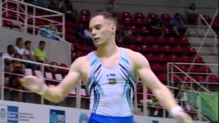 Oleg VERNIAIEV (UKR) : The Most Difficult All Around Routine In The World