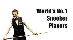 Top List of World's Number One Snooker Players