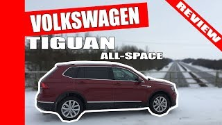 Why Volkswagen Tiguan Allspace 2018 review in Storm Emma wins