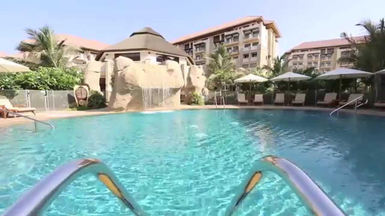 Sofitel dubai the palm resort spa kids pool 1 youtube for Pool and spa show dubai