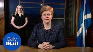 Nicola Sturgeon Calls For Public To Abide By COVID 19 Restrictions.