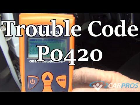 P0420 Code and Y Pipe Catalytic Converter Repair Chevrolet Silverado GMT900 2007-2014