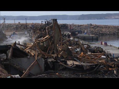 Bay de Verde fire damage
