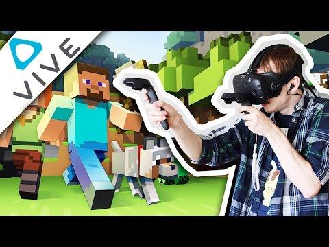 Minecraft i Virtual Reality? - HTC Vive