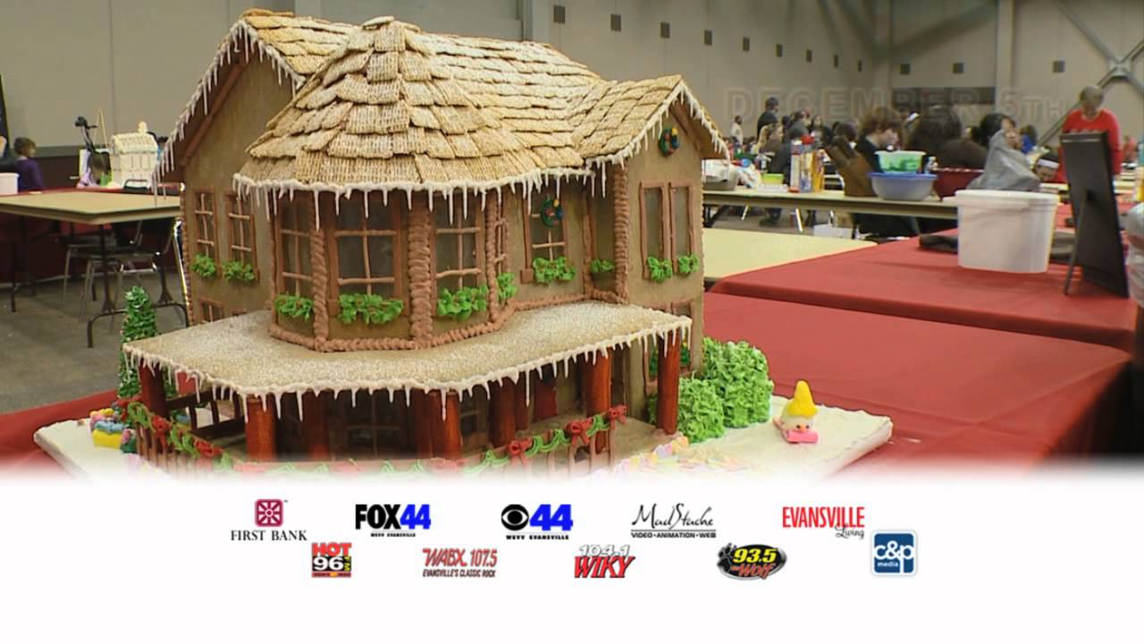 2015 aurora gingerbread house competition youtube for House aurora