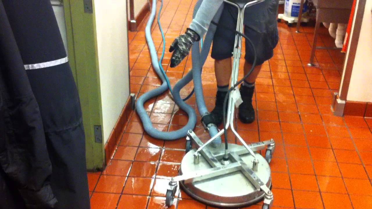 Great Restaurant Kitchen Floor Cleaning Atlanta   YouTube