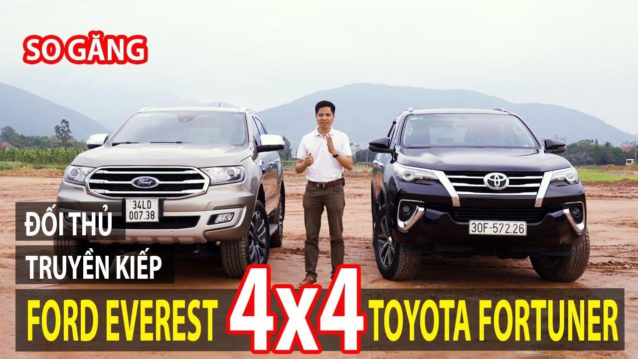 So sánh Ford Everest và Toyota Fortuner bản full – nhiều gia đình nuối tiếc | TIPCAR TV