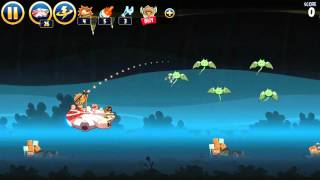 Angry Bird Starwars Big Brown Power Destroy The Boss