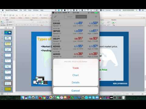 3. How to Trade With IOS -  iPhone and iPad