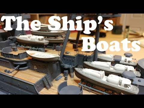 USS Arizona by Trumpeter 1/200 Scale Build Video # 12 The Sh
