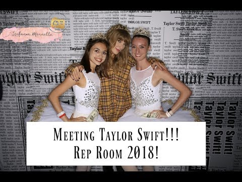 MEETING TAYLOR SWIFT! REP ROOM JULY 20, 2018