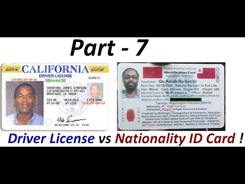 Driver License Fraud: Indigenous Americans 'Not' required to have Colonial Driver Licenses (Pt. 7) !