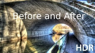 HDR Photography - Nikon D5200 - Before And After - Take A Walk Nature - HD