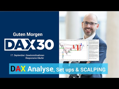 Scalping, Analyse, Trading-Ideen | DAX 30 | CFD Trading | DAX Analyse | Heiko Behrendt | 17.09.19