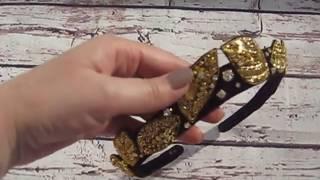 Вышитая диадема Фаина Философова  online video cutter com