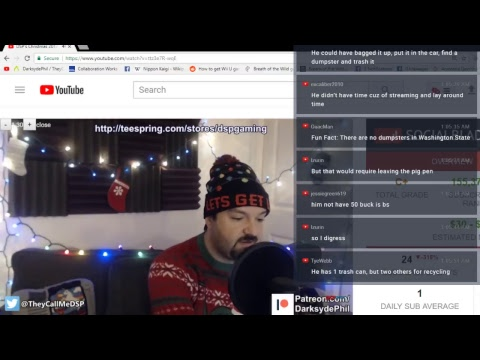 its a Very Darksyde Christmas Part 1: YouTube Illuminati, The Quest for Money and the Imaginary GF