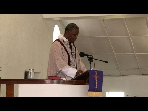 Capetown's Anglican Church holds service for Mandela