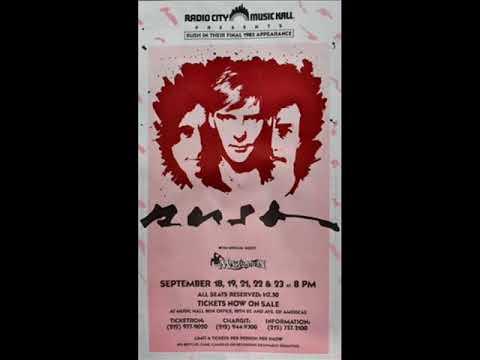 Rush - Audio -Live NYC 1983