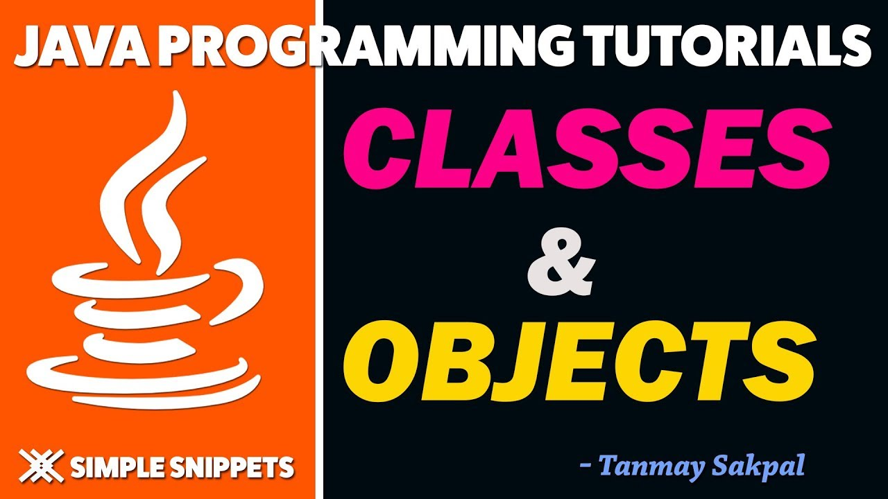 Java Classes & Objects in Detail | Theory and Practical Program Example