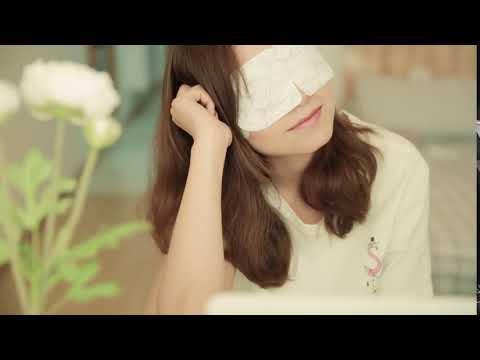 【艾灸養生】買二送一 蘄艾蒸汽眼貼 熱敷眼罩 發熱睡眠眼貼 艾灸貼 5貼/盒