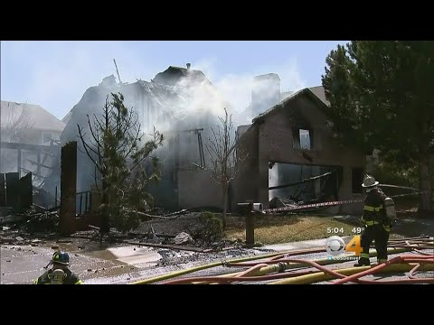 Winds Fuel Fire That Burns Homes In Castle Rock