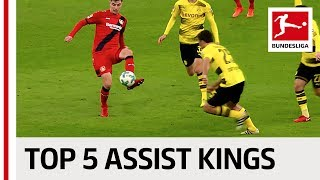 Top 5 Assist Kings So Far - Müller, Kimmich, Havertz & More