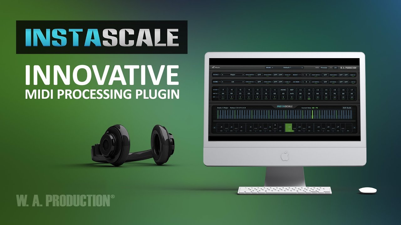 InstaScale - Innovative MIDI Processing Plugin (VST / AU)
