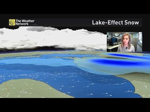 Lake-effect snow, how and why it happens