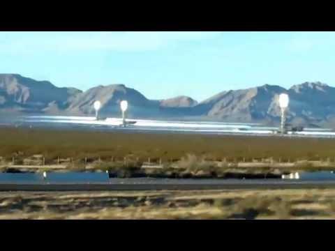 Ivanpah solar electric generating system near Las Vegas, NV