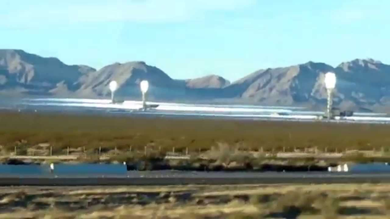 Ivanpah Solar Electric Generating System Near Las Vegas