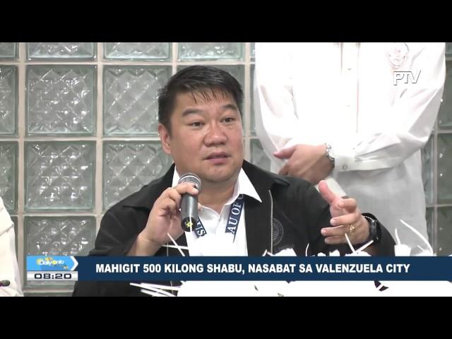 Mahigit 500 kilong shabu, nasabat sa Valenzuela City