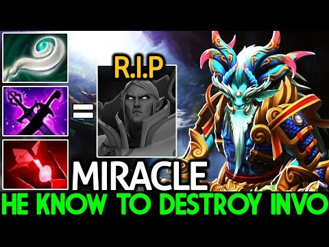 Miracle- [Leshrac] He Know exactly to Destroy Invo Mid Lane 7.21 Dota 2 thumbnail