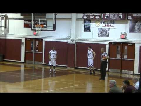 Shore Conference Boys Basketball 2014-TR South-59 vs TR East-43 2/7/2014