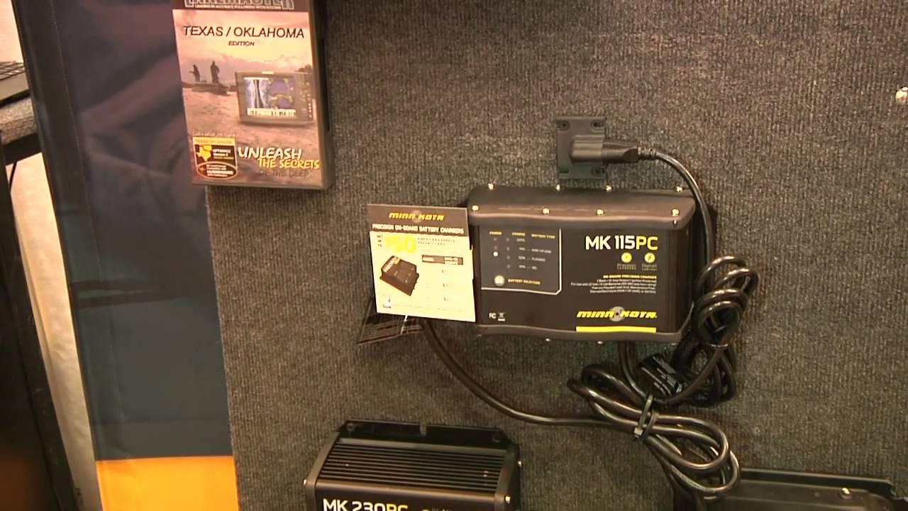 Boat Light Wiring Diagram New Minn Kota Battery Charging System Youtube