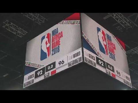 NBA Africa games in Pretoria