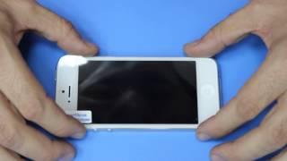 видео Правильно клеить пленку экран