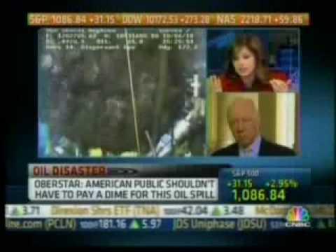 Oberstar talks to CNBC about BP Spill