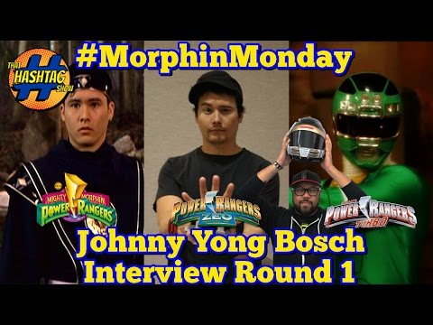 Johnny Yong Bosch Interview [Round 1] | Power Rangers | Morphin' Monday