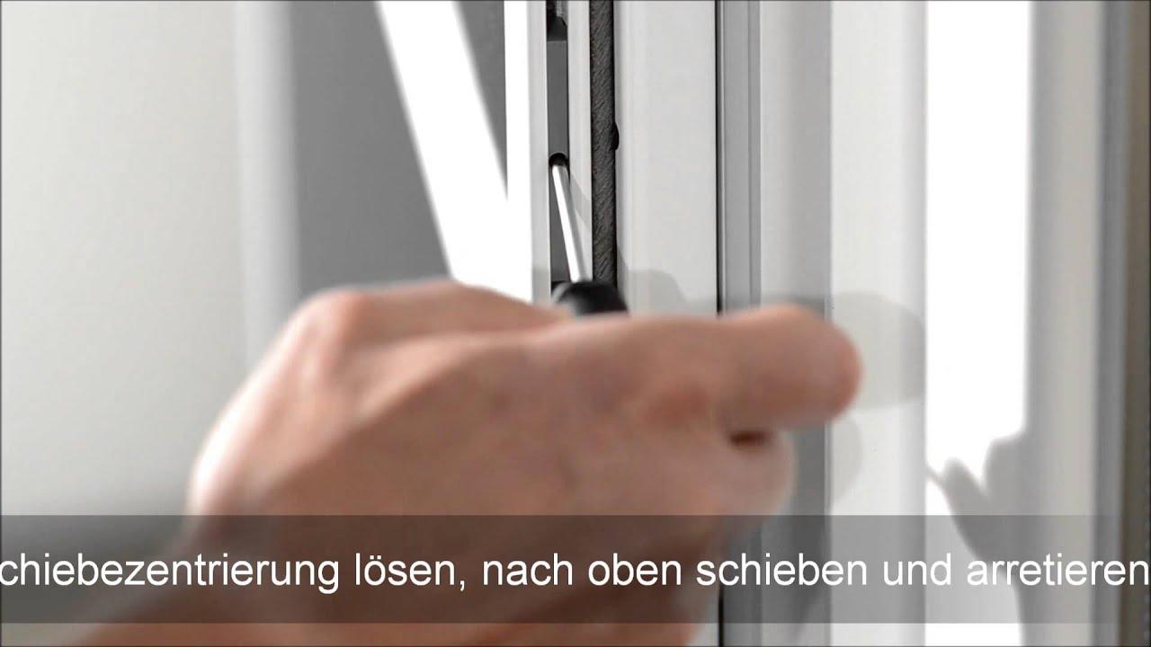 Insektenschutz Pendeltur Selbst Aushangen Youtube