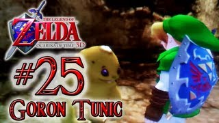 Let's Play The Legend of Zelda Ocarina of Time 3DS - Walkthrough Part 25: Goron Tunic, Giant's Knife