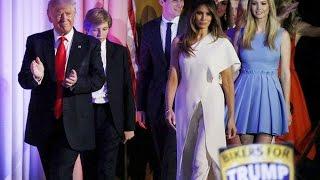 (VTC14)_Ý nghĩa trang phục vợ, con gái ông Trump trong lễ nhậm chức