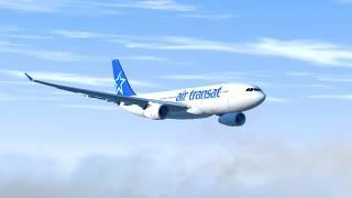 Flying On Empty - Air Transat Flight 236 - P3D